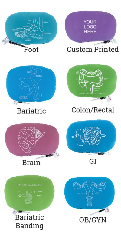 Oval Pillow Diagram | Therapeutic Pillows
