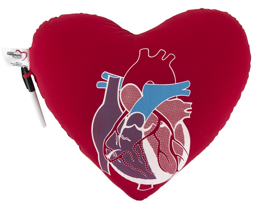 Therapeutic Pillows - Cardiothoracic Heart Pillow
