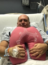 Bill Hamilton Lung Pillow
